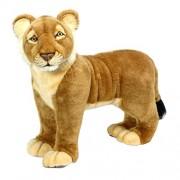 Hansa Life Size Lion Cub Stuffed Plush Animal, Standing