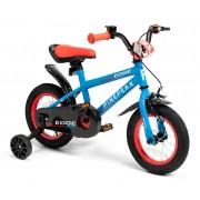 Pinepeak Premium Edge Kinderfahrrad 12 Zoll, Blau/Rot
