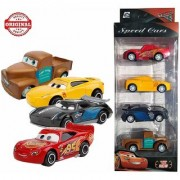 Morgan Sellers 164 Disney Pixar Cars 3 Series Die cast Metal Car Toys for Kids. Set of 4 Toys cars in 1 pack.