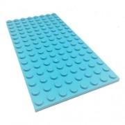Lego Parts: Elves Building Plate 8 x 16 (Medium Azure)
