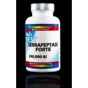 Best Serrapeptase Forte 240,000 Unitati/zi (3 cps) Doza Farmaceutica Forte- Serrapeptaza Serra Serrapeptase Serapeptase *