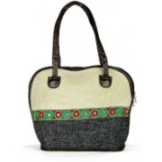Saffron Craft Shoulder Bag(Black)