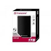 "Transcend Disco duro externo hdd transcend storejet 1tb/ 2.5""/ usb 3.0/ ts1tsj25a3k"