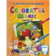 Coloratul magic cartea 3 - Ne amuzam si cu apa coloram