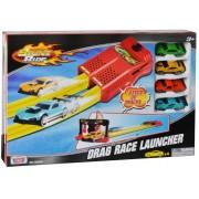 Set de joaca Noriel- Pista lansator si 4 masinute Motormax Drag Race Launcher