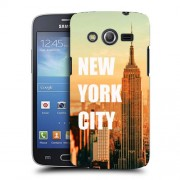 Husa Samsung Galaxy Core 4G LTE G386F Silicon Gel Tpu Model New York