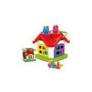Casinha Didática Infantil Brinquedo para Bebês 5726 Poliplac