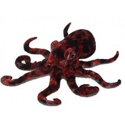 "Fiesta Giant Red Octopus 32"" Long"