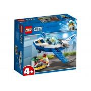 Set de constructie LEGO City Avionul politiei aeriene