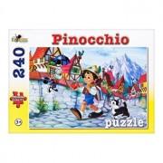 Puzzle Pinocchio - Colectia Povesti,240 piese