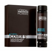 L'Oréal - Homme - Cover 5'- Nr. 4 - Bruin - 3 Stuks