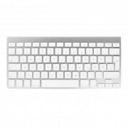 Apple Wireless Keyboard QWERTZ (A1314 / MC184D/A) blanco buen estado