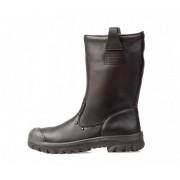 EMMA DEMPO Lederen Laarzen S3 - Zwart - Size: 38