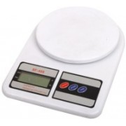 Atom Electronic Compact Kitchen Weighing Scale(White)