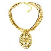 Fashionize Halsketting goud victoriaans
