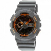 Ceas Casio barbatesc G-Shock GA110TS-1A4 gri inchis Resin Quartz