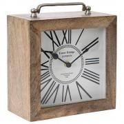 Ceas de masa din lemn Cronos Nature