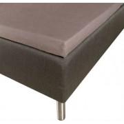 Borg Design Kuvertlakan - 100% Bomull - antracit - 90x200x8 cm