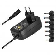 Adapter N3111 1000mA 5V2A 3-12V 100-240V 7csatl. + USB