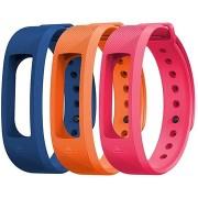 EVOLVEO FitBand B2 kék + narancs + rózsaszín karpánt