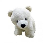 Ultra White Polar Bear Soft Plush Toy for Kids, 12 inches