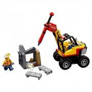 Lego mina: martillo hidráulico lego city mining 60185