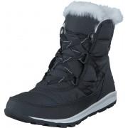 Sorel Whitney Short Lace 010 Black Sea Salt, Skor, Sneakers & Sportskor, Sneakerskänga, Svart, Dam, 39