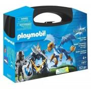 Playmobil Maletin Grande - Cabalelro Con Dragon - 5657