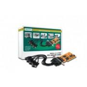 Adaptor PCI-serial 4 porturi Digitus
