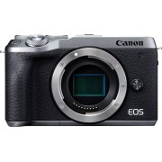 Canon - EOS M6 Mark II Mirrorless Camera (Body Only) - Silver