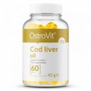 Ulei de ficat de cod 500 mg 60 Capsule