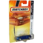 Mattel Matchbox 2007 MBX Sports Cars 1:64 Scale Die Cast Metal Car # 20 - Metallic Blue Convertible Sport Coupe...