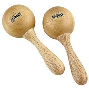 NINO Wood Maracas Medium Natural