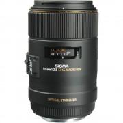 Sigma 105mm Obiectiv Foto DSLR F2.8 Macro 1:1 Montura Canon EF
