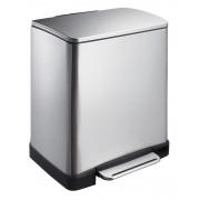 Кош за отпадъци с педал Eko E-Cube, 20 л - мат
