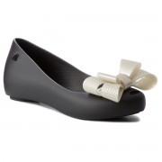 Балеринки MELISSA - Ultragirl Sweet XV Ad 32521 Black/White Metalized 53350