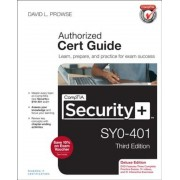 Comptia Security+ SY0-401 Authorized Cert Guide, Deluxe Edition [With CDROM], Hardcover