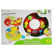 Jumping Beans Rolling 'n Blinking Amazing Mushroom with Number Puzzle