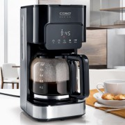 Cafetiera programabila Caso Germany Coffee Taste and Style 1.5 l/12 cesti timer control touch 900 W negru/argintiu