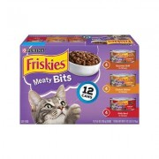 Friskies Meaty Bits Variety Pack Canned Cat Food, 5.5-oz, case of 12