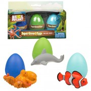 Animal Planet Grow Eggs- Sea- Hatch and Grow Three Different Super-sized Ocean Animals (Series 1)