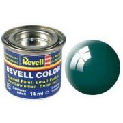 Revell Email Culoare - 32162: lucios albastru-verde (mare verde luciu)