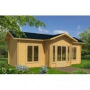 Casa de madera Anna 1 de 820x520 cm. para Jardín