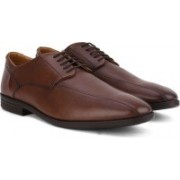 Clarks Glenrise Over Walnut Leather lace up For Men(Brown)