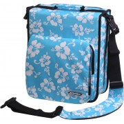 Zomo CD-Bag Large Premium Flower LTD blau/schwarz