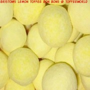 Bristows Traditional Lemon Bon Bons Wholesale 3kg Sack Bag