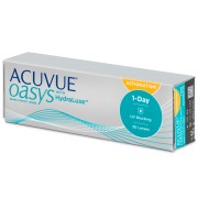 Acuvue Oasys 1-Day with HydraLuxe for Astigmatism (30 šošoviek)