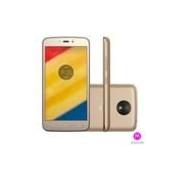 Moto C Plus Ouro Motorola com Tela de 5, 4G, 8 GB e Câmera de 8MP