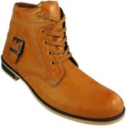 Elvace Yellow Casual Boot-5023