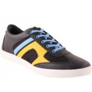 Shoe Island Babop3 Casual Shoes For Men(Black, Blue, Yellow)